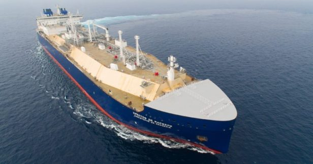 LNG carrier Christophe de Margerie - Image courtesy of DSME