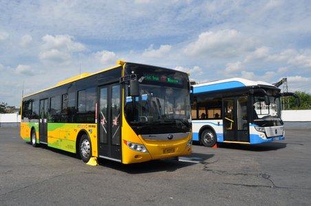 Electric bus Yutong - Mosgortrans July 2017