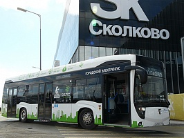 Электробус КАМАЗ-6282 - Photo credit KAMAZ