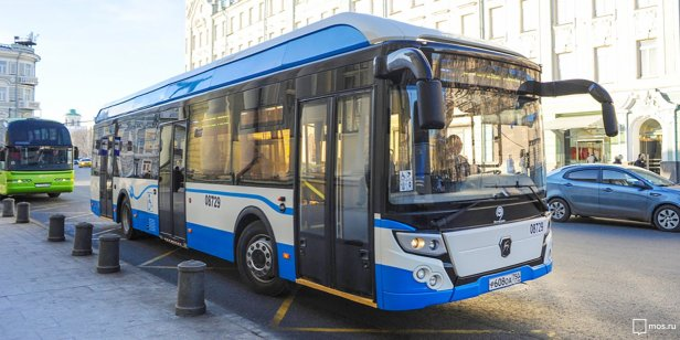 Electric bus LIAZ with 60km cruising range - Photo credit Mosru