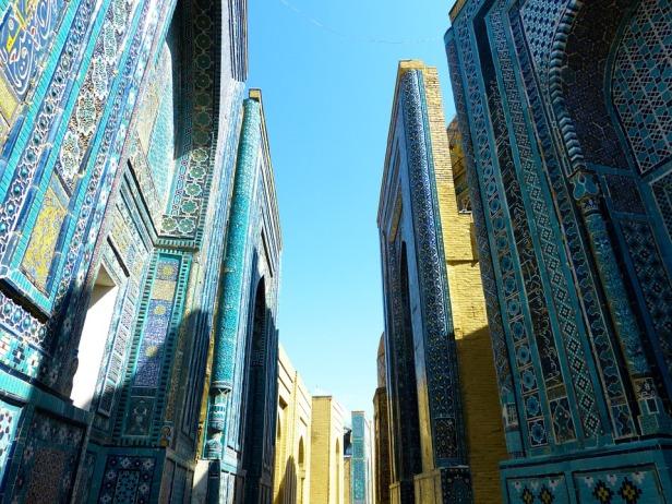 shohizinda necropolis - Samarkand Uzbekistan - Pixabay 196892_960_720